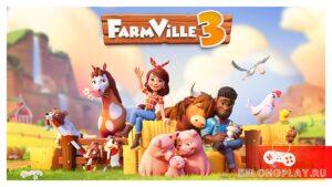 FarmVille 3 art logo wallpaper