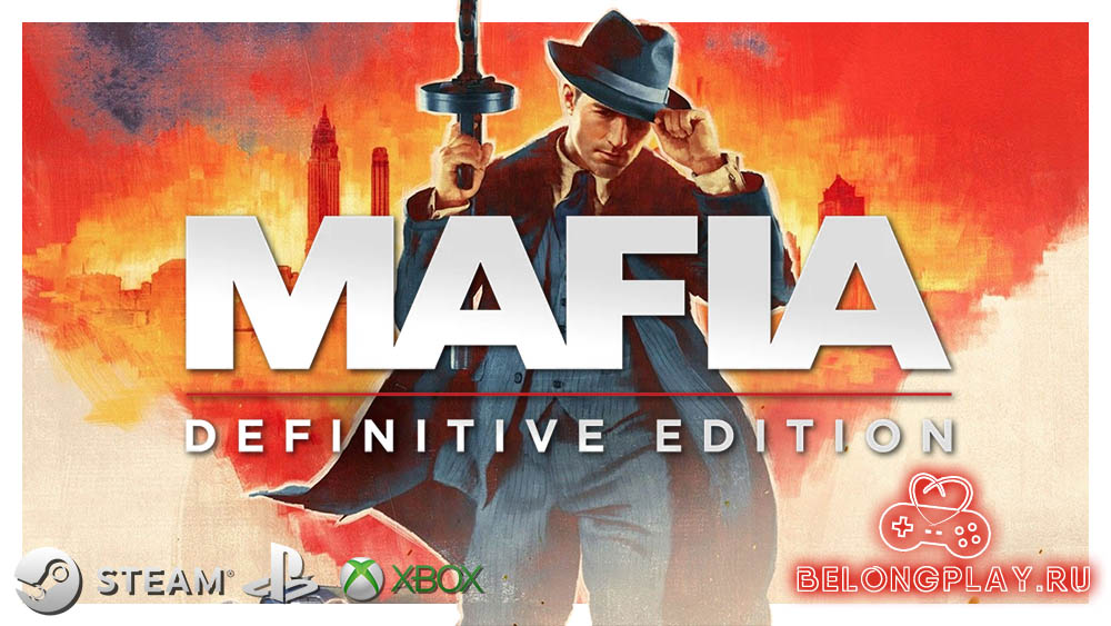 Mafia: Definitive Edition art